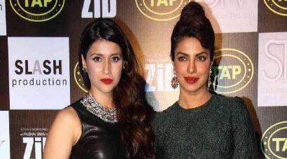Priyanka Chopra supports cousin Mannara at 'Zid' music success bash
