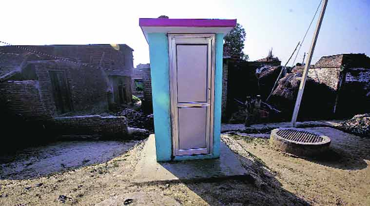 Maharashtra adopts gujarat toilet model in drought hit areas