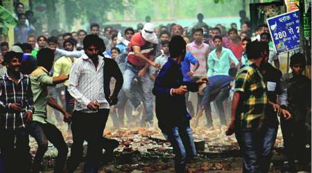 Delhi: Five days after clash, stones fly in Trilokpuri
