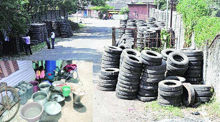 Water in discarded tyres and water stored in open buckets and utensils can breed dengue mosquito.