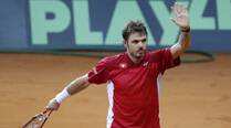 Davis Cup: Wawrinka gives Switzerland opening win in final
