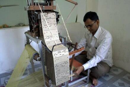 Meet the poet weaver who thinks big with his small loom