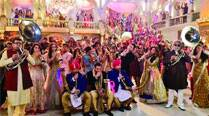 The entire cast of Welcome Back is seen during a wedding sequence in the film