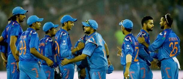 Twin tons set up India's 169-run win over Sri Lanka