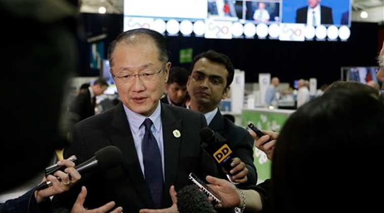 World Bank president Jim Yong Kim speaks to the media ahead of the G-20 conference in Brisbane (Source: AP)
