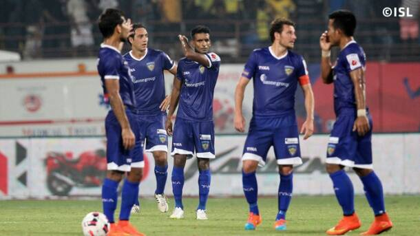 ISL: Kerala Blasters thrash Chennaiyin FC 3-0 in first leg of first semi-final