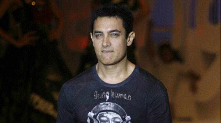 Aamir Khan launched the promotional campaign of his much awaited film 'PK' in Bihar as his role in the flick has him speaking Bhojpuri. (Source: Reuters)