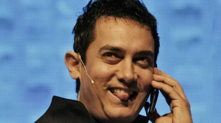Aamir says his character in 'PK' does not suffer from autism. (Source: Reuters)