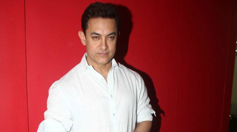 Aamir Khan clarified that his naked poster with a transistor on railway tracks is just a moment of the film.