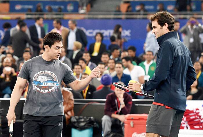 Image result for aamir khan playing tennis