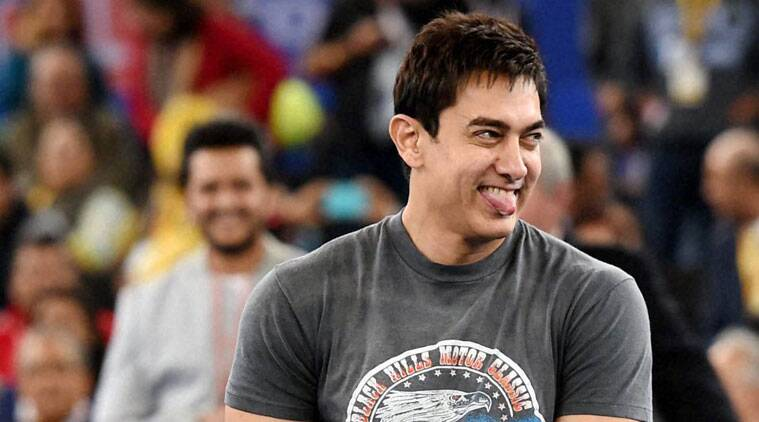 """Talking about the film, Aamir Khan revealed that his family has watched the forthcoming release and absolutely loved it. """"Azad is calling me PK now,"""" said Aamir talking about his son. About his family's reaction to PK, Aamir Khan said: """"Judging by the age groups - Azad is 3, Ira is 16, my. Wife is - I can't tell you get age, she'll kill me. Ammi is in her 80's and everybody loved it. Ammi told me this is your finest work."""""""