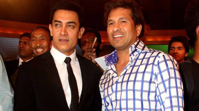 Superstar Aamir Khan will show his forthcoming film 'PK' to cricketing legend Sachin Tendulkar.