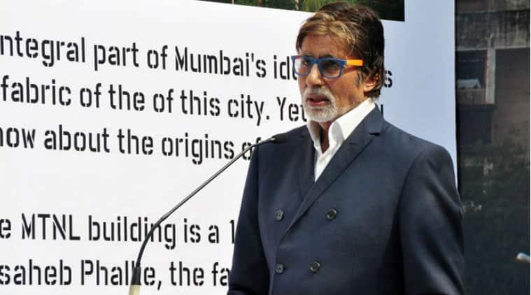 Amitabh Bachchan unveiled the 120x150 foot mural of Phalke on the sidelines of St+art Mumbai Festival.