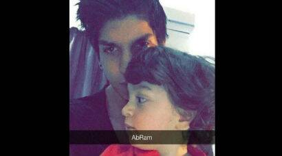 First selfie of SRK's son AbRam leaked online and he looks adorable