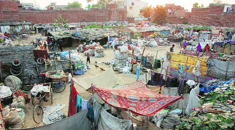 The Agra slum where the 'conversion' took place. (Source: Express photo by Gajendra Yadav)