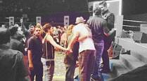 Ranveer Singh's PDA with rumoured girlfriend Deepika Padukone and kiss with Karan Johar