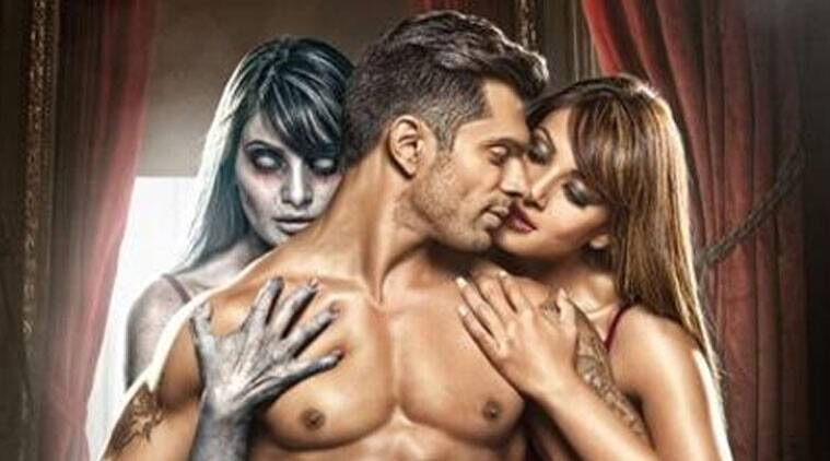 Bipasha Basu unveils the first look of 'Alone'.
