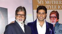 Amitabh Bachchan, Abhishek Bachchan win prize at same award function
