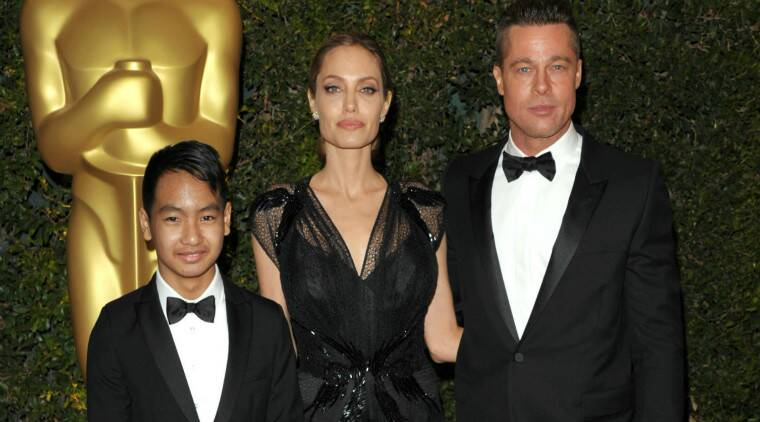Angelina Jolie: My son Maddox became a teenager. That was a marker in my year. (Source: AP)