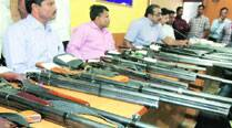 Drive against illegal arms: 'Factory-made' ammunition leaves police puzzled