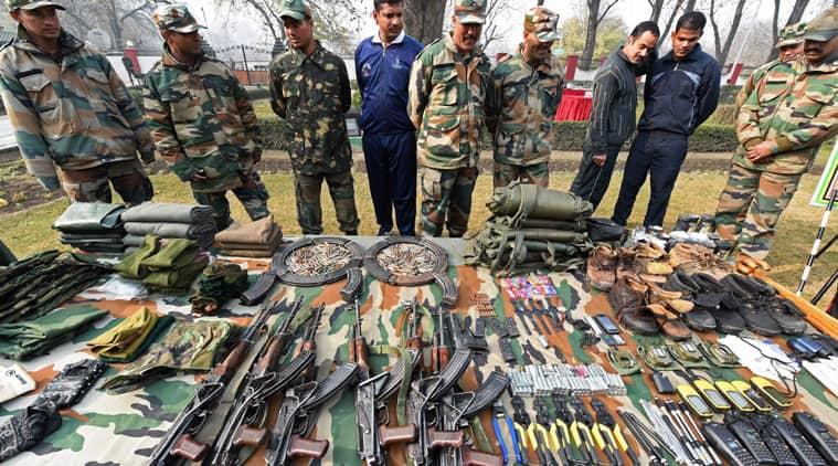 BSF, Jammu and Kashmir, LoC Inflitration, Pakistani infiltration.