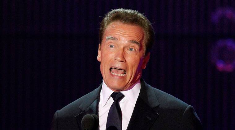 Arnold Schwarzenegger is reportedly not happy with his son's relationship with Miley Cyrus. (Source: Reuters)