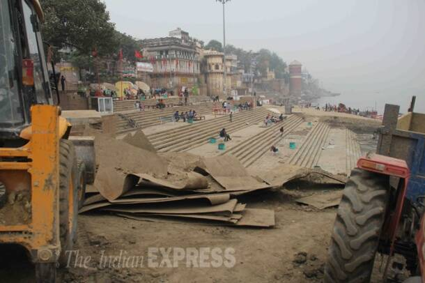 Month after Modi's campaign, Varanasi's Assi ghat still awaits a facelift