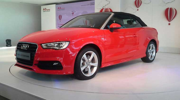 Audi A Cabriolet Launched At Rs Lakh The Indian Express - Audi a3 cost