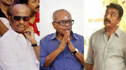 K Balachander in photos
