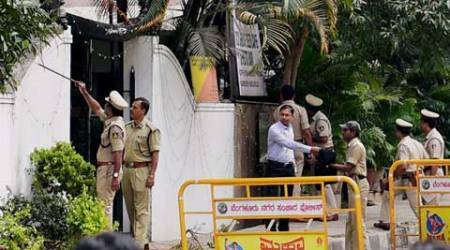 Bangalore blast probe: Two SIMI men in city policecustody