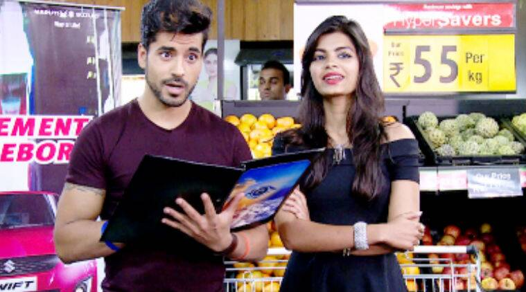 When Sonali and Gautam arrive at the mall, there is a slight twist in store.