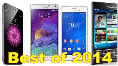 Best smartphones of 2014, the year of the gamechangers