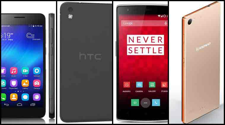 htc android phones price list 2015. best smartphones 2014, htc desire 816, huawei honor 6, oneplus one, lenovo android phones price list 2015
