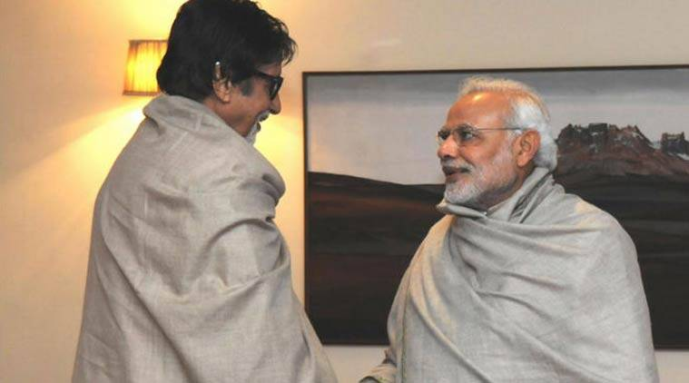 Amitabh Bachchan has been roped in for an ad film that stresses the need to rise above religion and caste for inclusive development. (Source: Express Archive)
