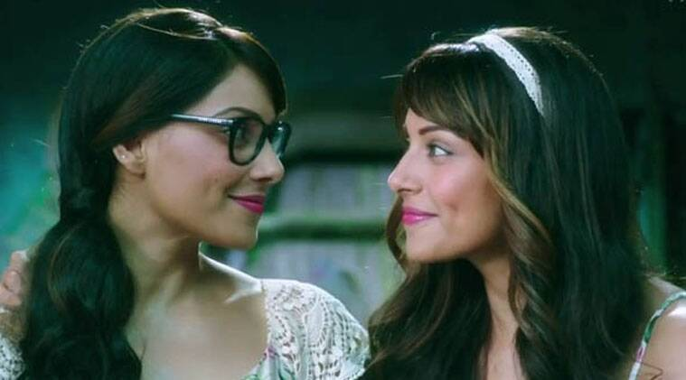 """Directed by Bhushan Patel, """"Alone"""" features Bipasha as conjoined twins. Besides, it also features TV star Karan Singh Grover."""