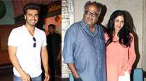 From Chennai to Mumbai - Boney Kapoor juggles between wife Sridevi and son Arjun Kapoor