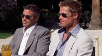 Brad Pitt, George Clooney celebrate their wedding over dinner