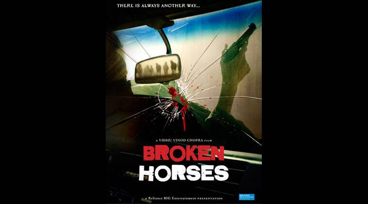 """Indian filmmaker Vidhu Vinod Chopra's Hollywood film """"Broken Horses"""" will release April 10 next year. He says the movie was quite a challenge."""