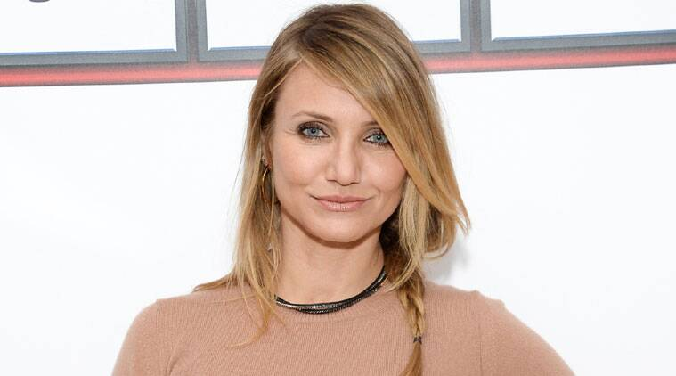 Cameron Diaz says she is not ruling out the idea of walking down the aisle. (Source: AP)