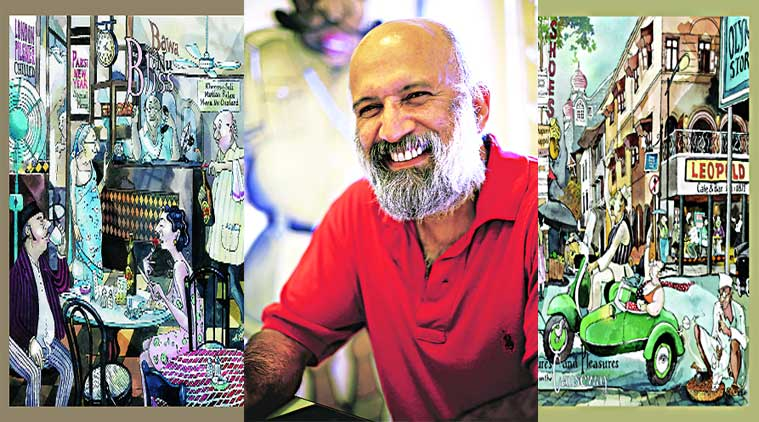 Paul Fernandes captured the eccentricities of the people of old Bombay in his cartoons