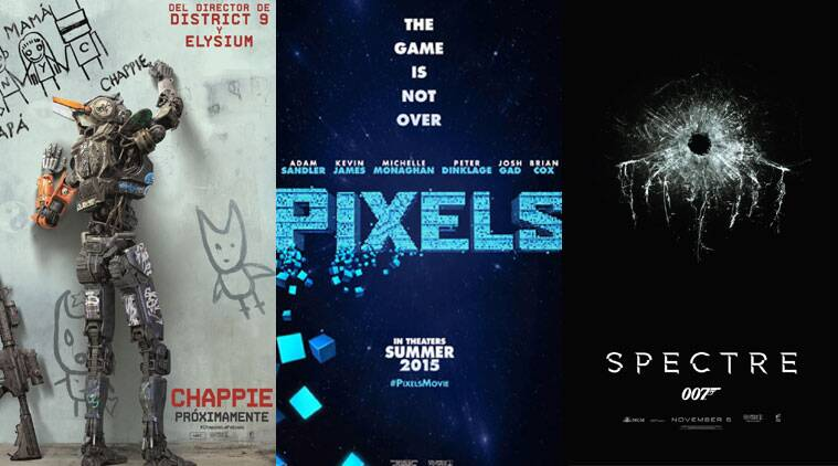 Sony Pictures India is geared up for an exciting slate in the new year thanks to a line-up of movies like 'Chappie', 'Pixels' and 'Spectre'.