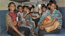 40 suspected child labourers from Bihar rescued in Mumbai-bound train