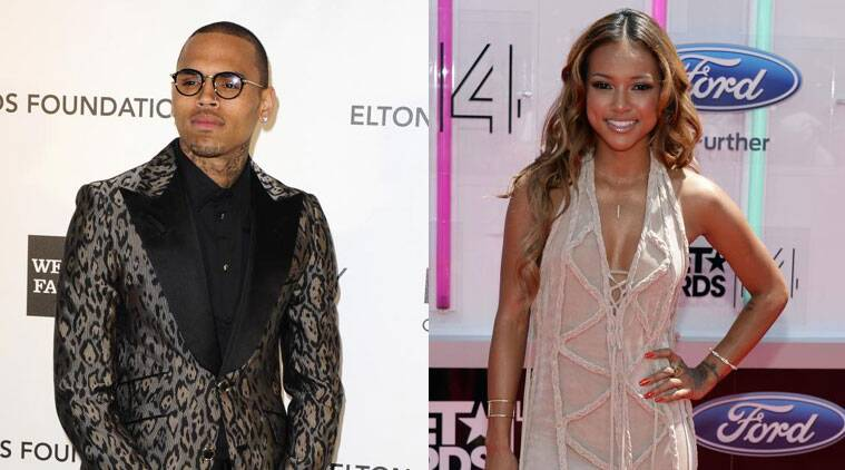Chris brown is said to be trying to work out his relationship with Tran Karrueche. (Source: Reuters)