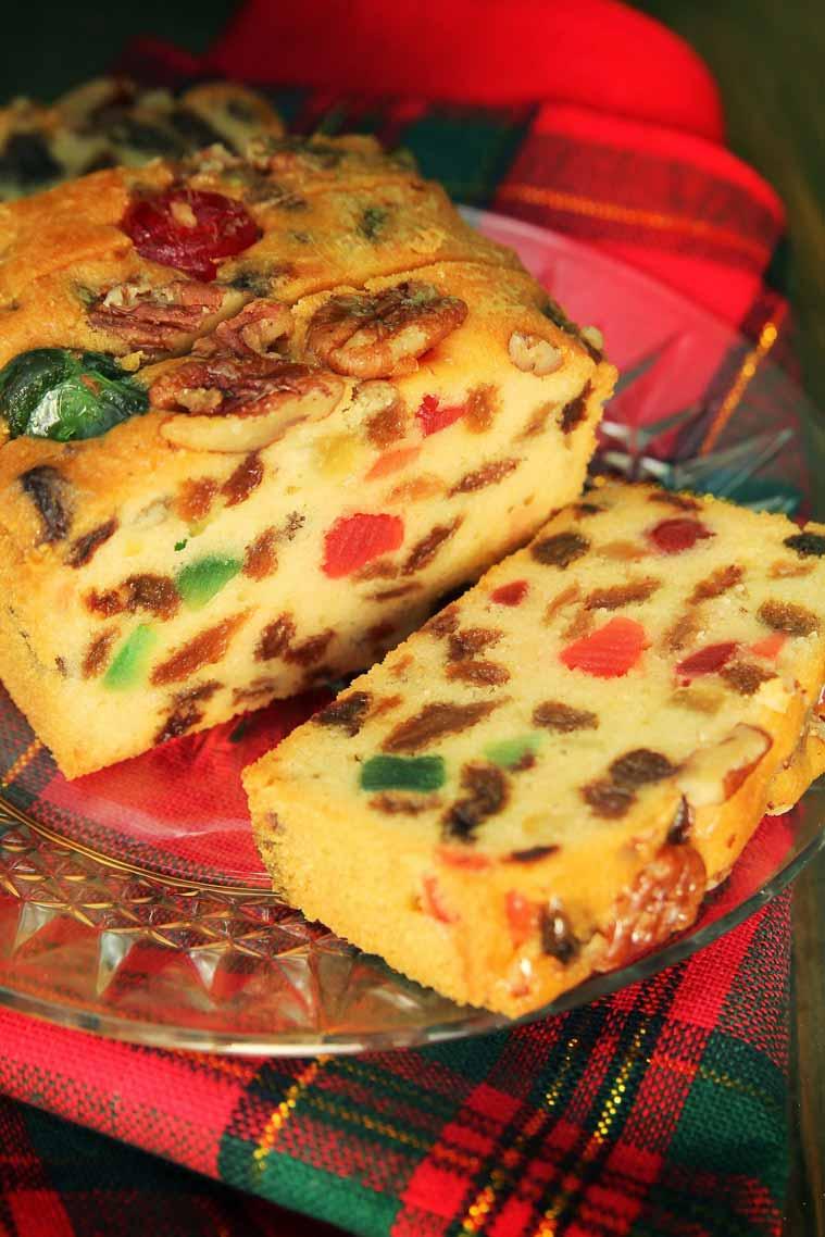 life fruit christmas fruit cake