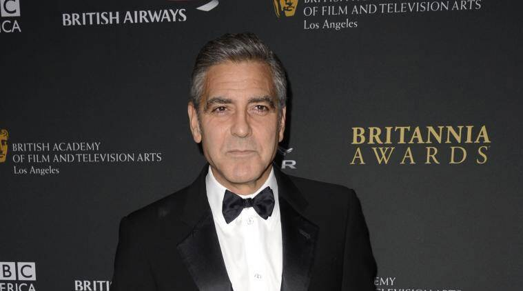 Clooney, wrote to Sony Pictures chair Amy Pascal, with the subject : 'Knowing this email is being hacked'. (Source: Reuters)
