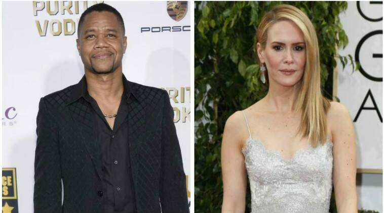 Cuba Gooding Jr will portray the retired football player and convicted felon, while Sarah Paulson will play prosecutor Marcia Clark. (Source: AP)