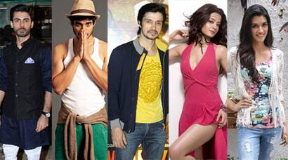 PHOTOS: Bollywood Top Debuts of 2014: Fawad Khan, Tiger Shroff, Kriti Sanon