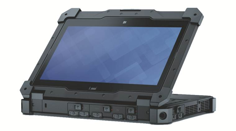 Dell Latitude 12 Rugged Extreme has the industry's first rugged flip-hinge display that converts seamlessly between notebook and tablet