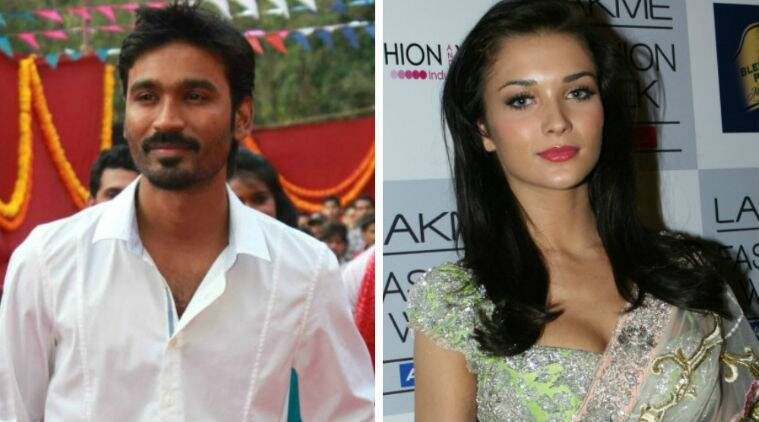 Amy Jackson tweeted: Very happy to announce my next movie project opposite none other than the awesome @dhanushkraja #Rollon2015.