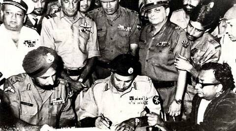 The commission led by Justice Hamoodur Rehman examined more than 200 witnesses, including Niazi. It had recommended a public trial of several senior army officers and a court martial for Niazi. But no government dared to try him. (Source: Indian Defense Ministry/Associated Press)